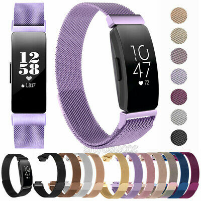 For Fitbit Inspire/Inspire HR Milanese Loop Stainless Steel Watch Band Strap CA