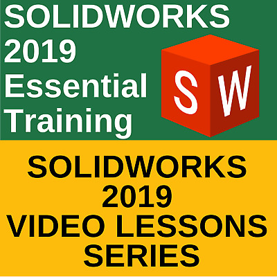 SOLIDWORKS 2019 Essential Training Video Course - Complete Tutorial Lessons