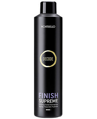 Spray fijador fuerte Decode Montibello Finish supreme 400ml