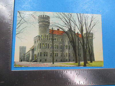 Vintage State Armory Schenectady New York NY 1910 Post Card PC84