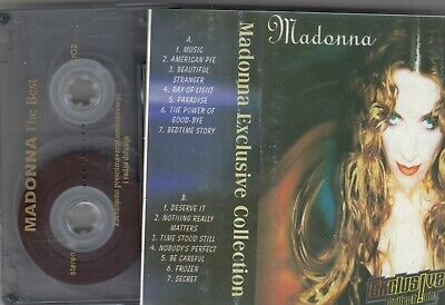 Madonna Exclusive Collection Cassette Tape