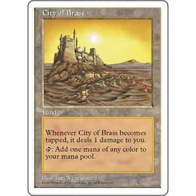 MTG FIFTH EDITION * City of Brass - Condition: Good