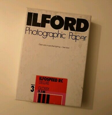 Ilford Ilfospeed RC Deluxe Glossy 12.7cm X 17.8cm Photographic Paper 100 sheets