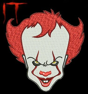 """☆ IT Chapter 2 Pennywise the Clown Bill Skarsgård 5"""" x 5"""" Patch Stephen King ☆"""