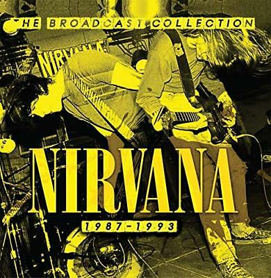 """Nirvana-The Broadcast Collection 1987-1993-5Cd Box """"New"""" Sealed"""