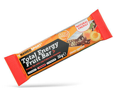 Named Sport Total energy Fruit Bar Scatola da 25 Barrette