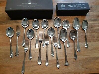 Mappin & Webb Silver Plated Cutlery Collection (42 pcs)