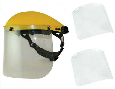 ESAB Safety Grinding Face Shield + 2 Extra Polycarbonate Clear Visors