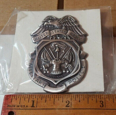 Obsolete US Army MP Full Size Breast Insignia Badge