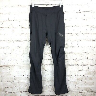 aefd7cdf1 Lululemon Seawall Track Pant II Lined Soot Size Medium M Drawstring Pockets  Gray
