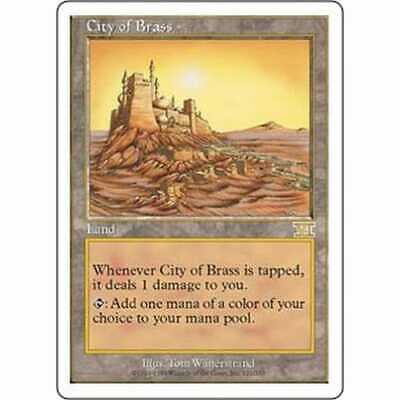 MTG SIXTH EDITION * City of Brass - Condition: Excellent