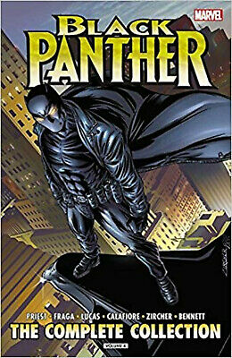 Black Panther by Christopher Priest: The Complete Collection Vol. 4 (Black Panth