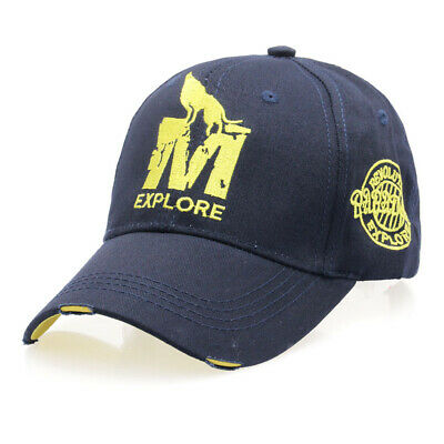 Explore Embroidered Baseball Cap Men's Outdoor Sports Snapback Hat  Adjustable