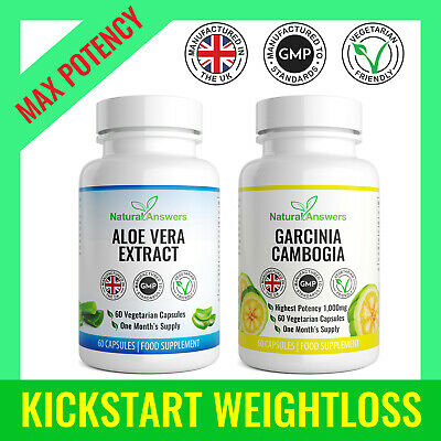 Fat Burner Detox Capsules Garcinia Cambogia & Colon Cleanse Keto Diet Pills T5