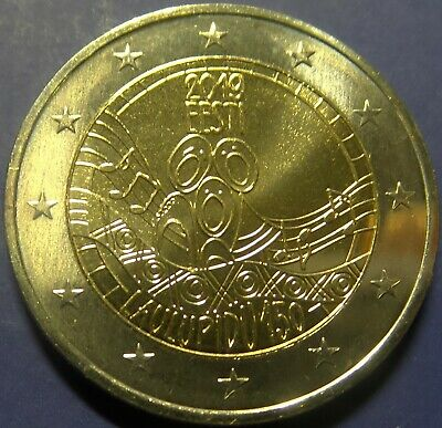 ESTONIA - 2 Euro commemorative coin 2019-150 y of the first song festival