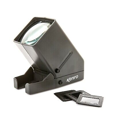 Kenro X3 Desktop Slide Viewer to View 35mm Film and Mounted Slides - KNSVX3