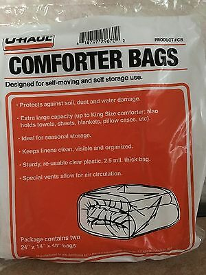 Durable Comforter Bags Extra Large Capacity Up to King Size Comforter