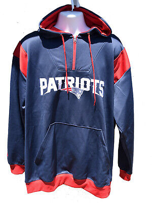 Nice NEW ENGLAND PATRIOTS Hoodie Majestic Men's Size Xl $24.99  for sale