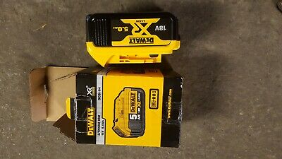 Dewalt pour visseuse Batterie 18V 5,0Ah XR 5 ampere  battery original new Neuf