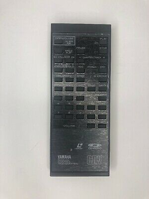 YAMAHA VH76470 Remote Control For CDV-1700 LASER DISC New A21