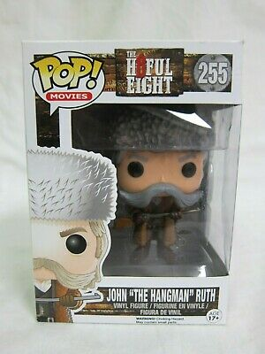 "Funko Pop! Movies Hateful Eight John ""The Hangman"" Ruth #255 Toy Figurine"