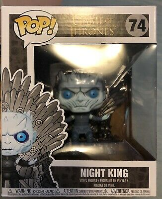 Funko POP! Game of Thrones Night King On Throne Great Condition FREE SHIPPING