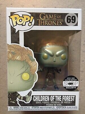 Funko Pop #69 Game Of Thrones Metallic Children Of The Forest HBO