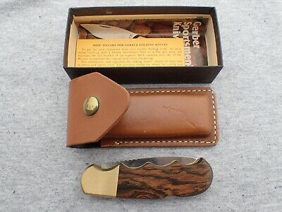 Gerber Magnum Folding Hunter, Mint In Box With Scabbard And Paperwork!