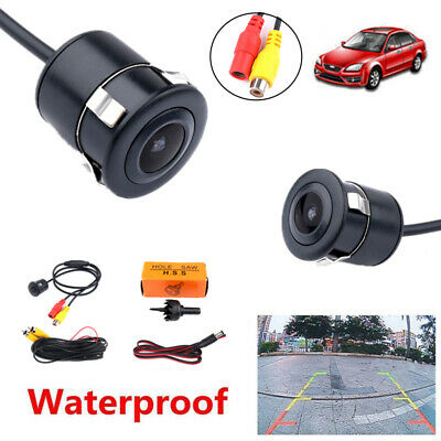 Waterproof Car Rear View Camera Vehicle Parking Monitor 170 Wide Angle Back Cams
