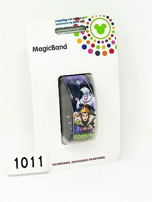 Disney Parks Villains MagicBand 1 Magic Band Linkable Purple Link It Later 1011