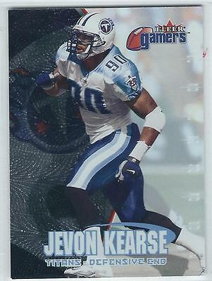 2000 FLEER GAMERS Football Pick 20 Cards To Complete Your Set