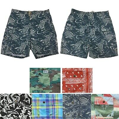 9b95c96732 Polo Ralph Lauren Big and Tall Mens Swim Shorts Swimsuit Hawaiian Print  Trunks