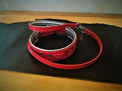 Collar para perros PRAGA RED American Bully PitBull Bulldog Mastiff Dog Collars