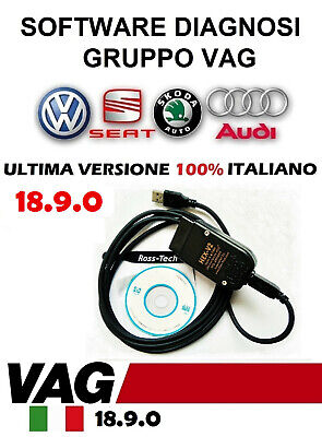 VCDS VAG-COM VW Audi Group USB cable Diagnostic Tool Full Unlimited