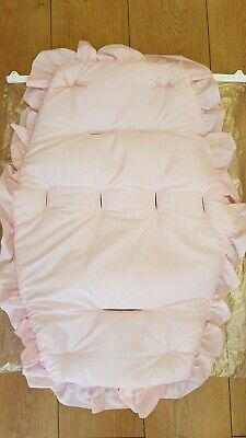 Beautiful  Pram    Universal Fit  Buggy Liner  Colour  Pink