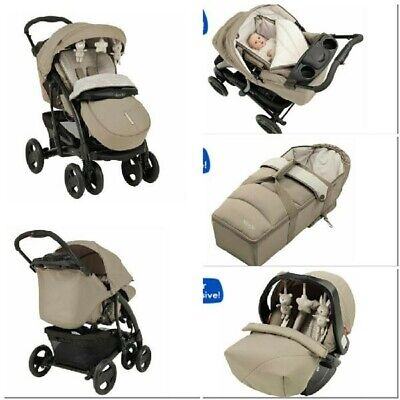 Graco Quattro Tour Deluxe Bear And Friends Travel System Single Seat Stroller