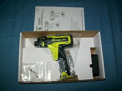 NEW Snap-on™ Lithium Ion CTS725P 14.4 V 1/4 hex CordLESS Screwdriver Open Box Ratchets