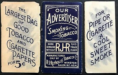OUR ADVERTISER 5¢ RJ Reynolds Tobacco Papier a Cigarette Rolling Papers