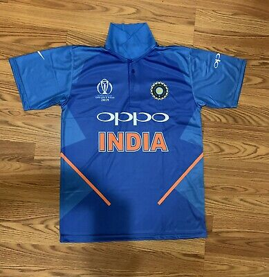 Indian 2019 World CUP Cricket Team Jersey Shirt Dri-Fit (All sizes available)