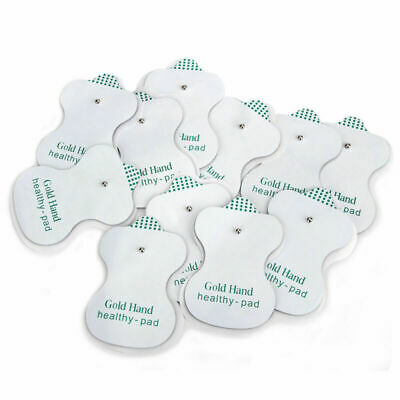 20 PCS Snap On Replacement Pads For Electrode Therapy Tens Unit & Pulse Massager
