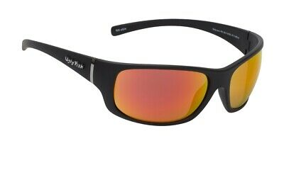 NEW Ugly Fish Polarised Sunglasses Eclipse PC3441 Black/Red Revo