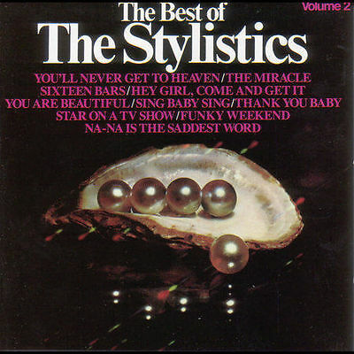 BRAND NEW Stylistics Volume 2 Best Of The Stylistics CD Made In Canada Amherst