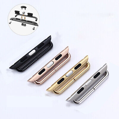 1Pair Stainless Steel Strap band Connector adapter Buckle For Apple Watch iwatch