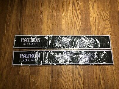 NEW Patron XO Cafe Tequila Rubber Bar Rail Spill Mat Purple - FREE SHIPPING