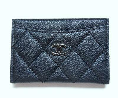 66d1d484aa199f CHANEL VIP GIFT Credit card holder in Black - $79.95 | PicClick