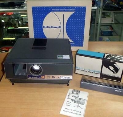 Vintage Bell & Howell Semimatic Projector Model 972 with Box