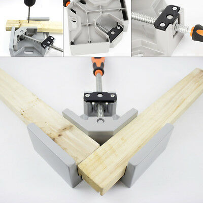 90° Right Angle Corner Clamp Corner Vice for Carpenter metal Welding Woodworking