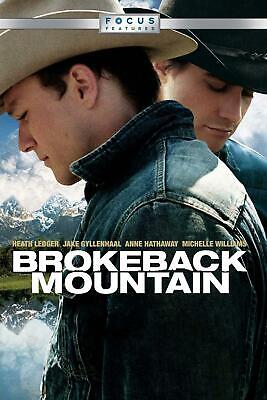 BROKEBACK MOUNTAIN. dvd. ( En terreno vedado. )