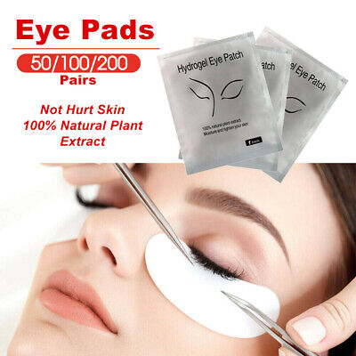 Eye pads Eyelash Pad Gel Patch Lint Free Lashes Extension Mask Eyepads