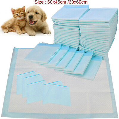 Dog Puppy Extra Large 60x45cm Training Pads Pad Wee Wee Floor Toilet Mats